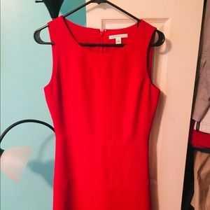 Beautiful Red Banana Republic Cocktail Dress!